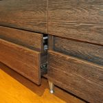 medinių stalčių sistema